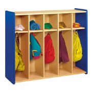Nature Color Toddler Coat Locker