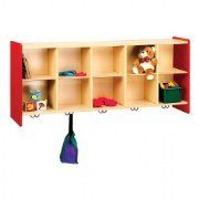 Nature Color 10 Cubbie Wall Locker