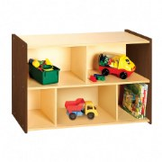 Nature Color Preschool Storage Shelf Unit