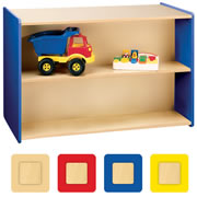 Nature Color Preschool Double-Sided Storage Unit