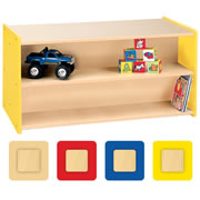 Nature Color Toddler Double-Sided Storage Unit