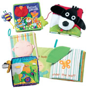 Peek A Boo Cloth Books (Set of 4)