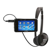 MP4 Player/Recorder and Headphone