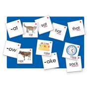 Word Families Pocket Chart Cards