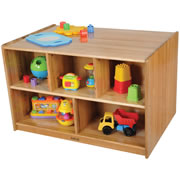 Ash Toddler Double Sided Storage Unit