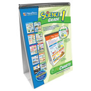 "Grades 1- 5. Curriculum Mastery® Flip Chart provides a hands-on review of standards-based curriculum skills and includes 10 double-sided, laminated charts. Side 1 features a colorful, graphic overview of the topic. Side 2 serves as a write-on/wipe-off activity chart featuring questions, labeling exercises, vocabulary review & more! Full size 12"" x 18"" charts are mounted on sturdy easels. Activity guide with black-line copy-masters of the charts and review questions, vocabulary terms, and suggested activities."