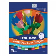 "12"" x 18"" Tru-Ray Construction Paper (Case Pack)"