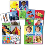 Bilingual Early Math Board Books (Set of 5)
