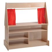 Puppet Theatre with Dry Erase Panel