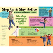 Step Up and Stay Active Poster