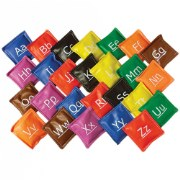 Alphabet Bean Bags - Set of 26
