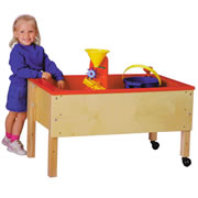 Sand/Water Table With Red Tub 20""