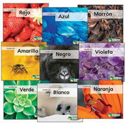 Colors Book Set - Spanish