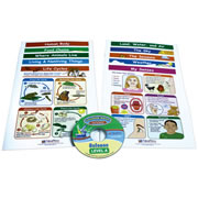 Science Visual Learning Guides and CD