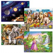 Afterschool Puzzle Set 2 - 200-Piece Jigsaw Puzzles