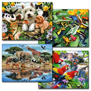 Afterschool Puzzle Set 3 - 300 Piece Jigsaw Puzzles