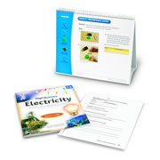 Flip4Science® Teacher's Guide and Center Book - Electricity