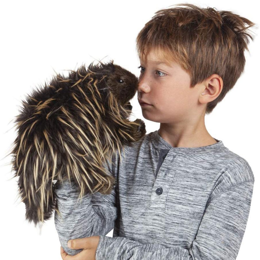 Alternate Image #2 of Porcupine Hand Puppet