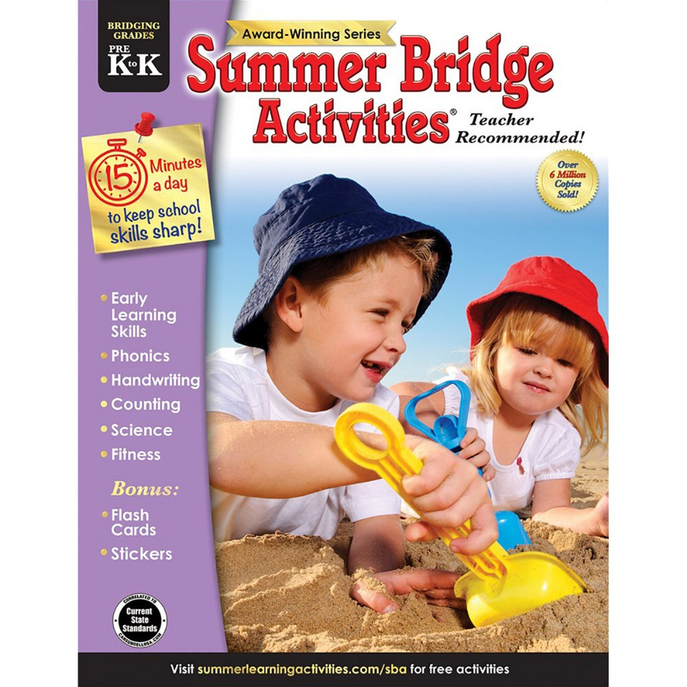 Summer Bridge Activities PreK to K