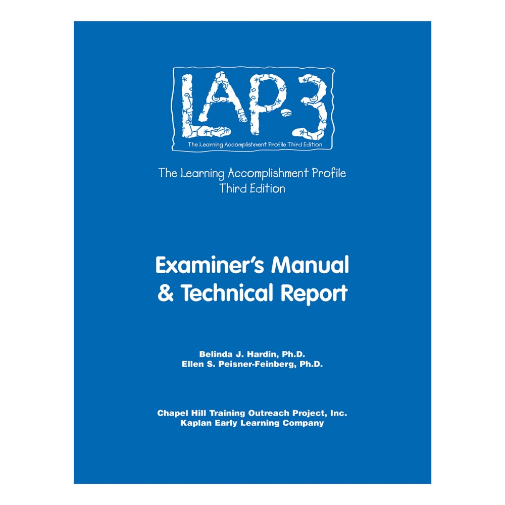 LAP™-3 Technical Manual & Technical Report, 3rd Edition