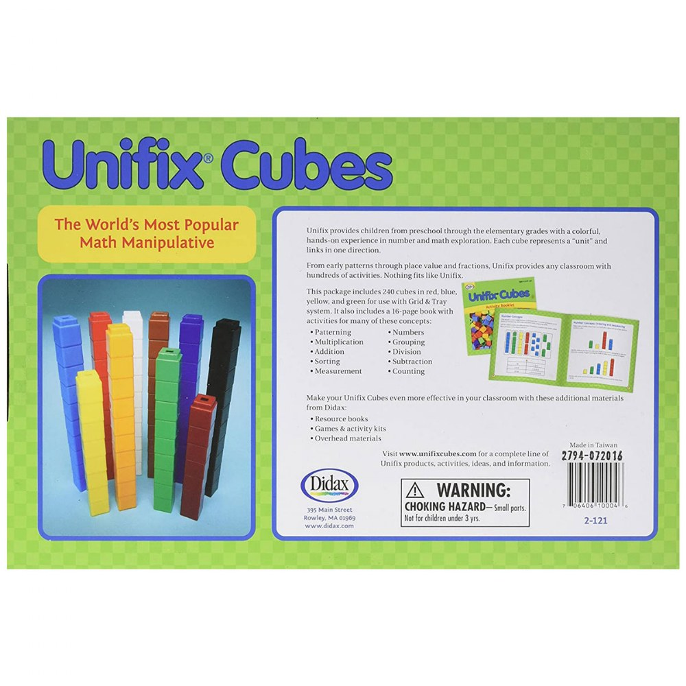 Alternate Image #2 of 240 Unifix® Cubes