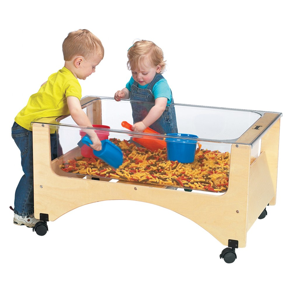 See-Thru Sensory Sand & Water Table - Toddler Height