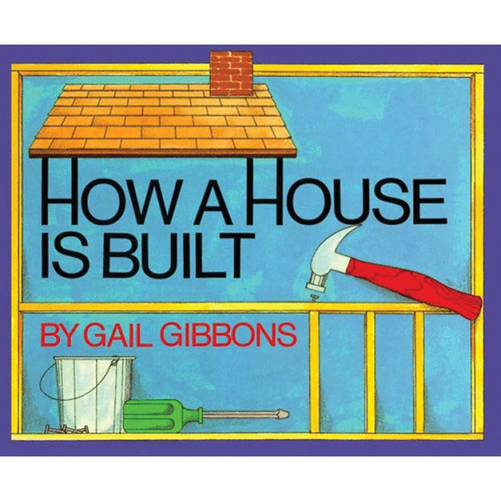 How A House Is Built (Paperback)