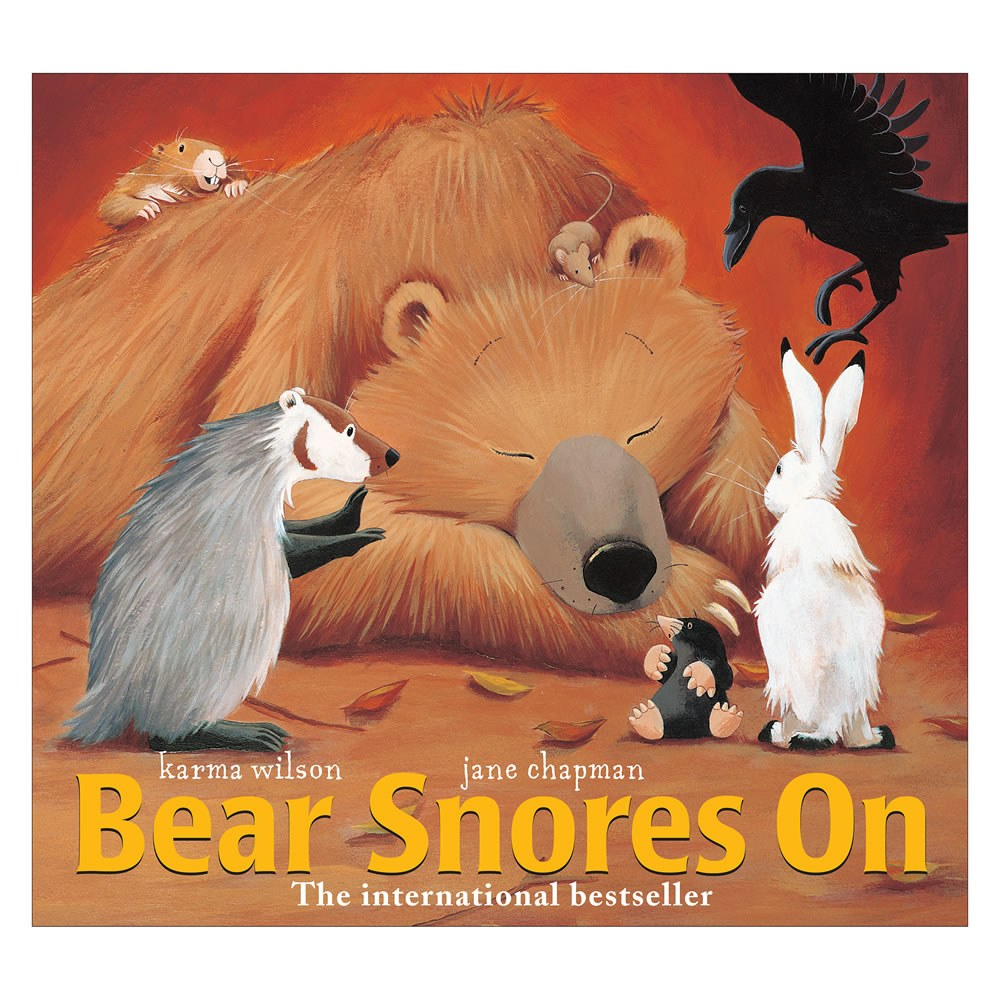 Bear Snores On - Hardcover