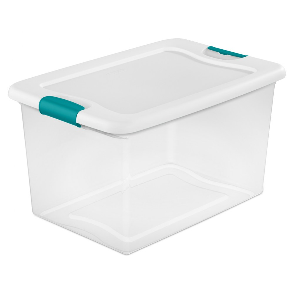 Clear Storage Boxes