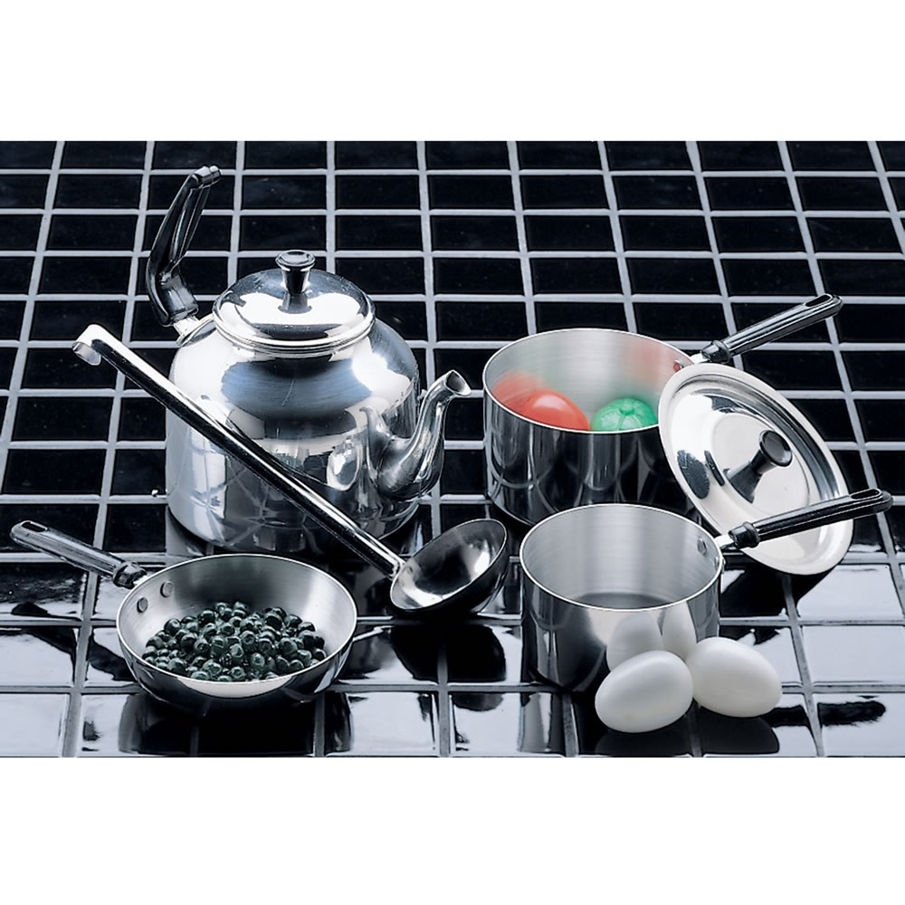Child Size Cooking Set - 7 Pieces