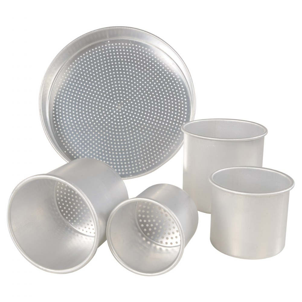 Sand Sifter Set - with Pan Sieve and Four Cans