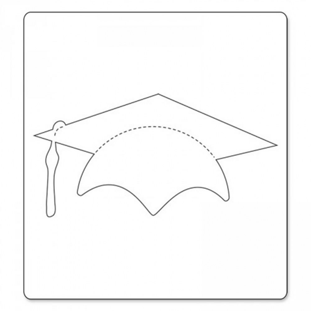 Alternate Image #1 of Bigz Die - Graduation Cap