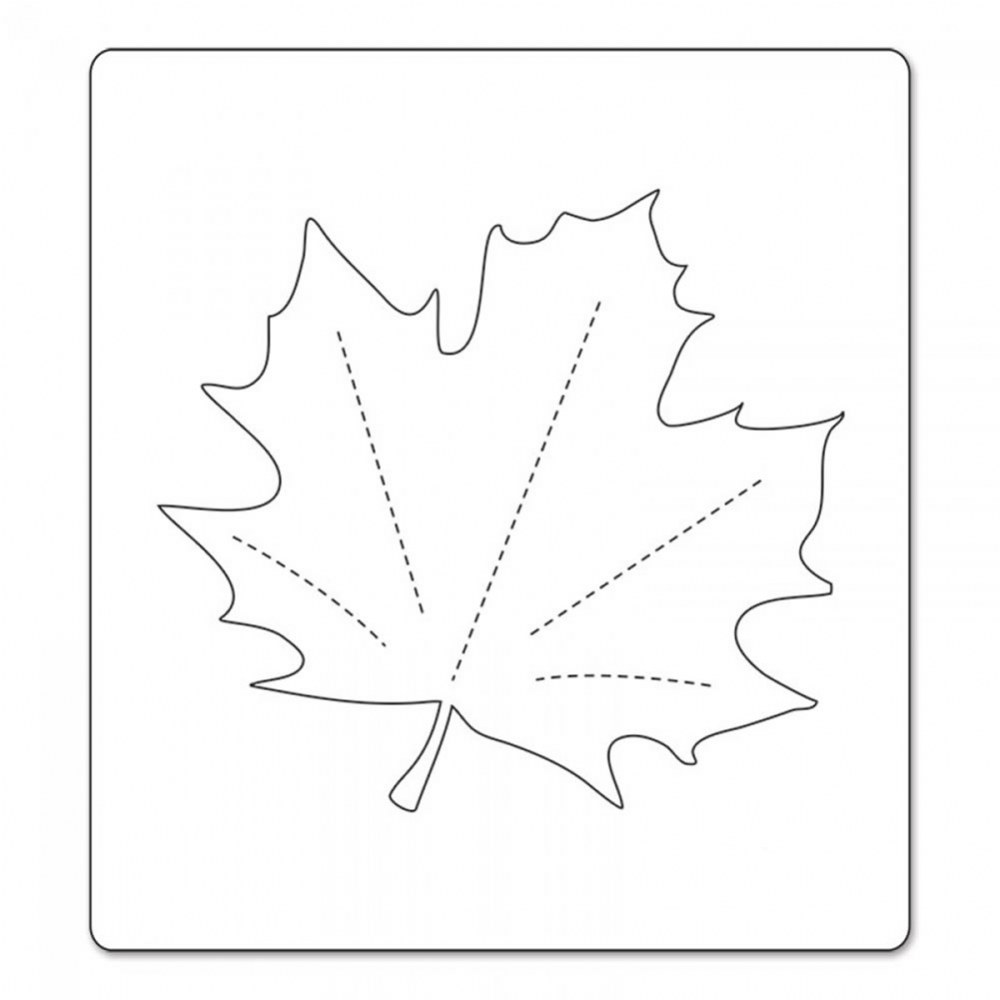 Alternate Image #1 of Bigz Die - Maple Leaf