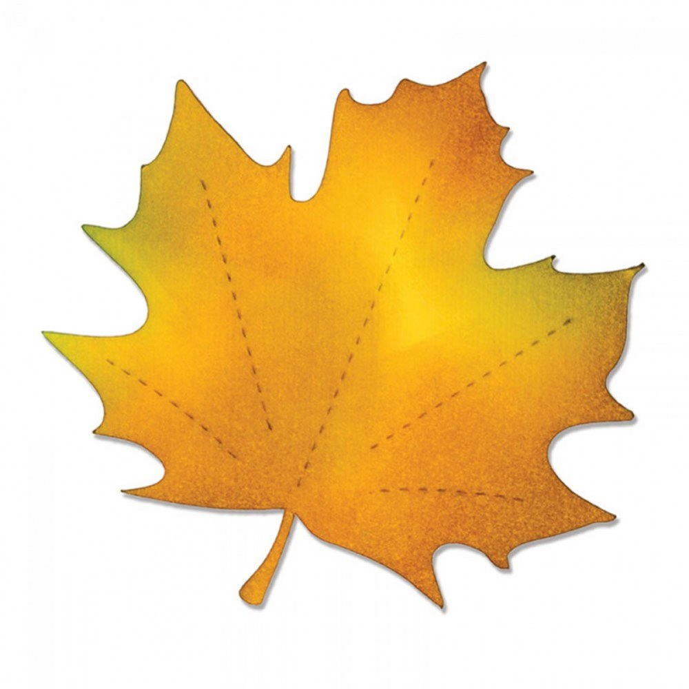 Alternate Image #2 of Bigz Die - Maple Leaf