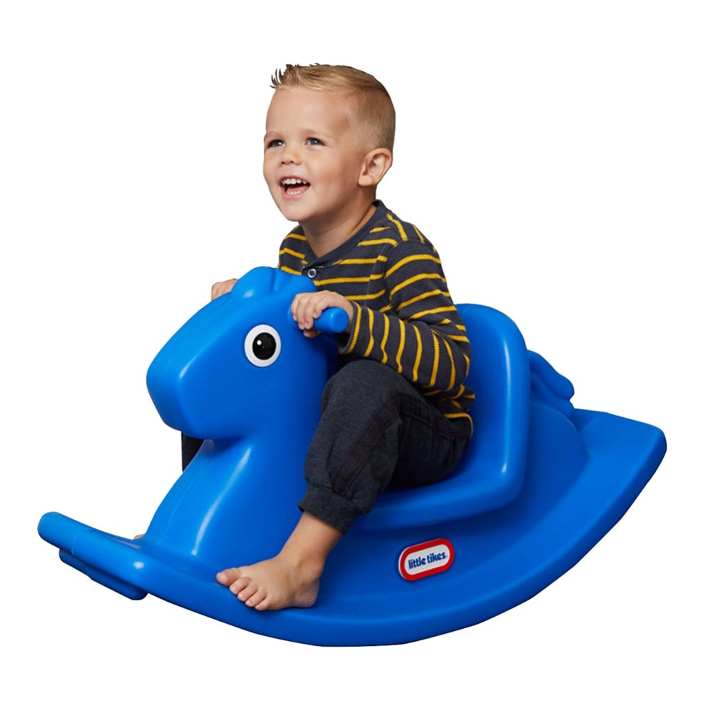 Alternate Image #1 of Rocking Horse Primary Blue
