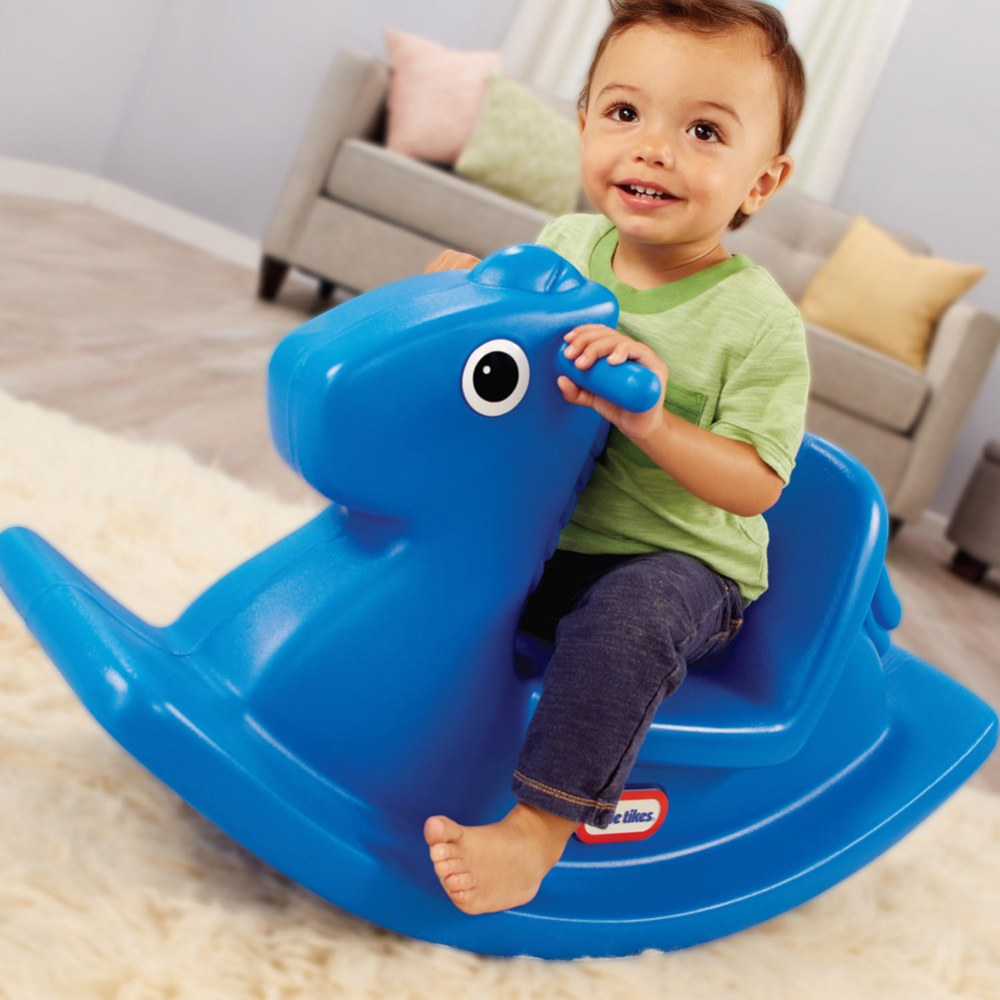 Alternate Image #2 of Rocking Horse Primary Blue