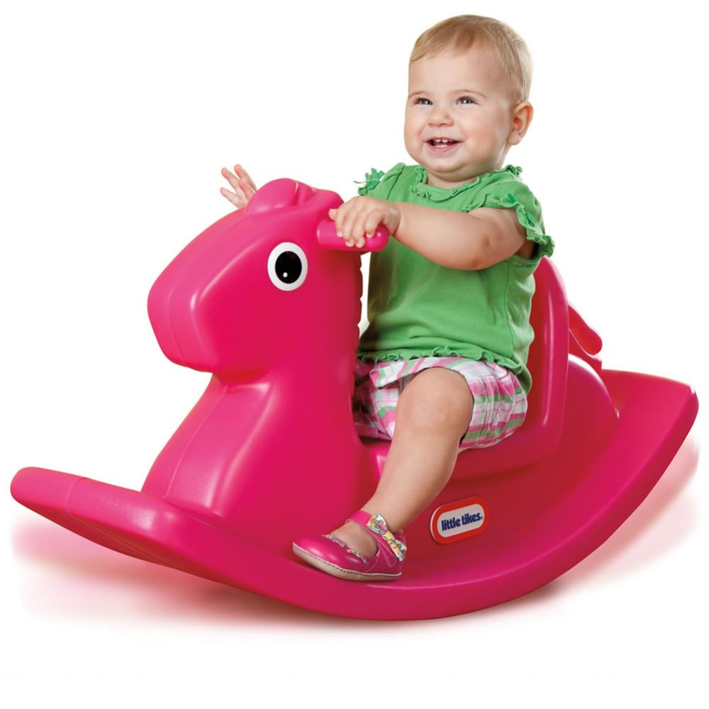 Alternate Image #1 of Rocking Horse Magenta