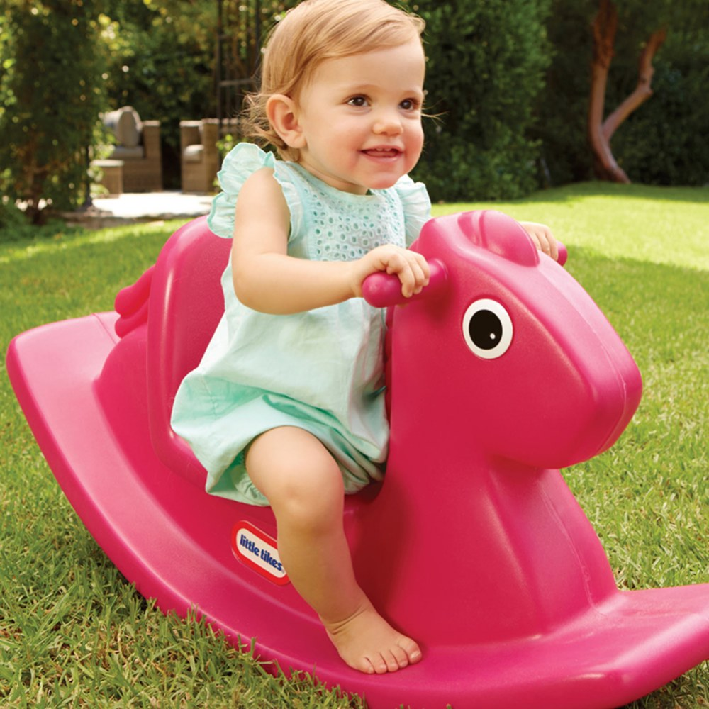 Alternate Image #2 of Rocking Horse Magenta