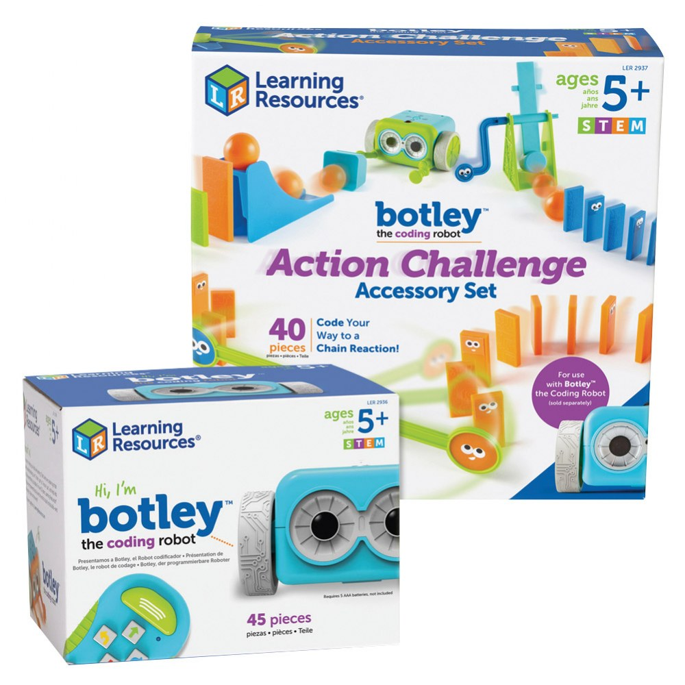 Alternate Image #1 of Botley® The Coding Robot & Action Challenge Accessory Pack