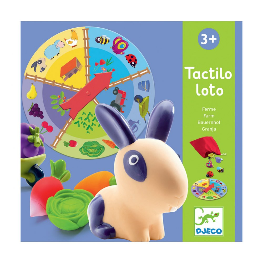 Alternate Image #2 of Farm Tactilo Loto Game