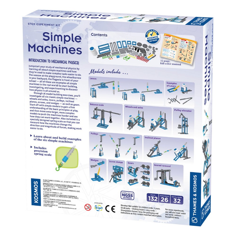 Alternate Image #7 of Simple Machines STEM Experiment and Model Building Kit