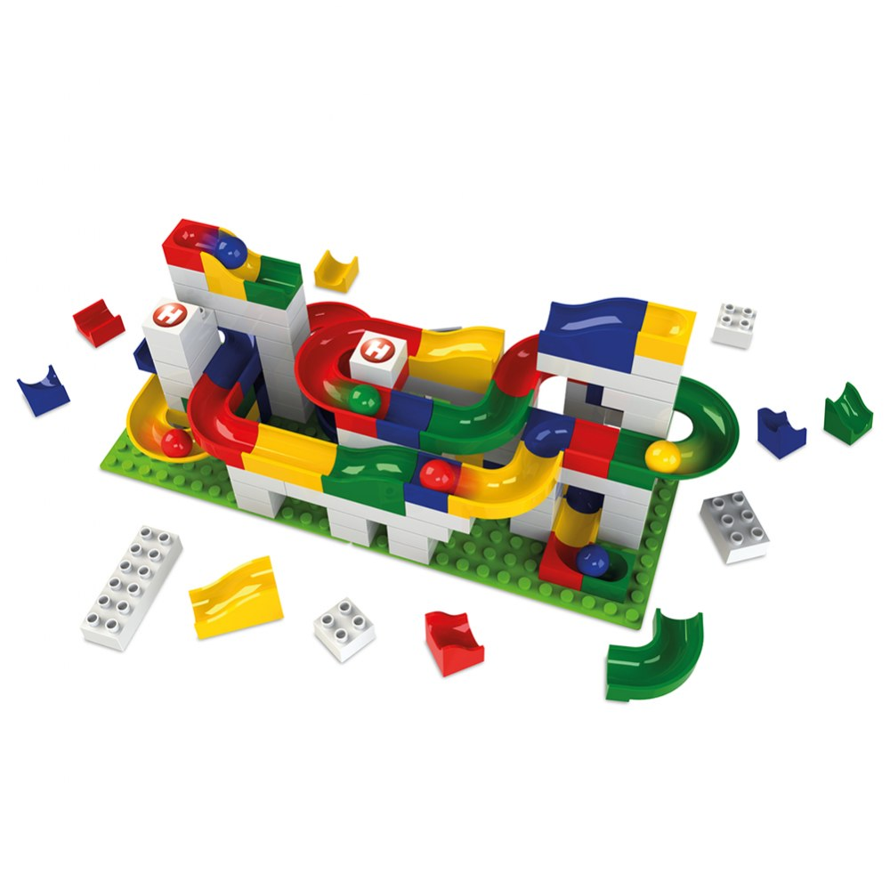 Alternate Image #1 of Marble Run Basic Building Box - 123 Pieces
