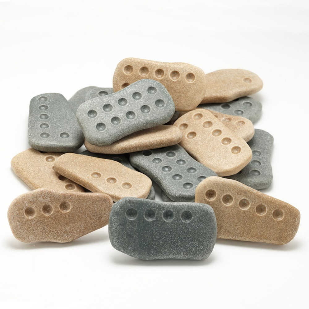 Tactile Counting Stones Supports Math Concepts