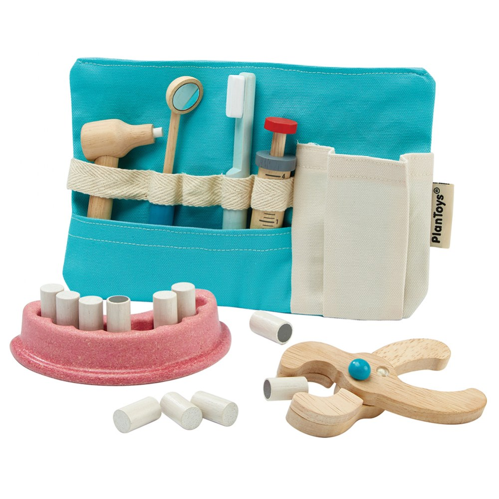 Dentist Role Play Set Promoting Teeth Cleaning and Proper Hygiene