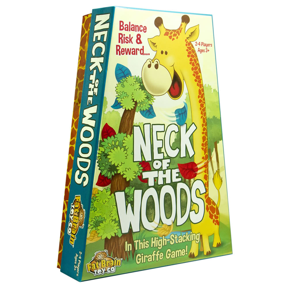 Alternate Image #1 of Neck of the Woods Stacking Balance Game