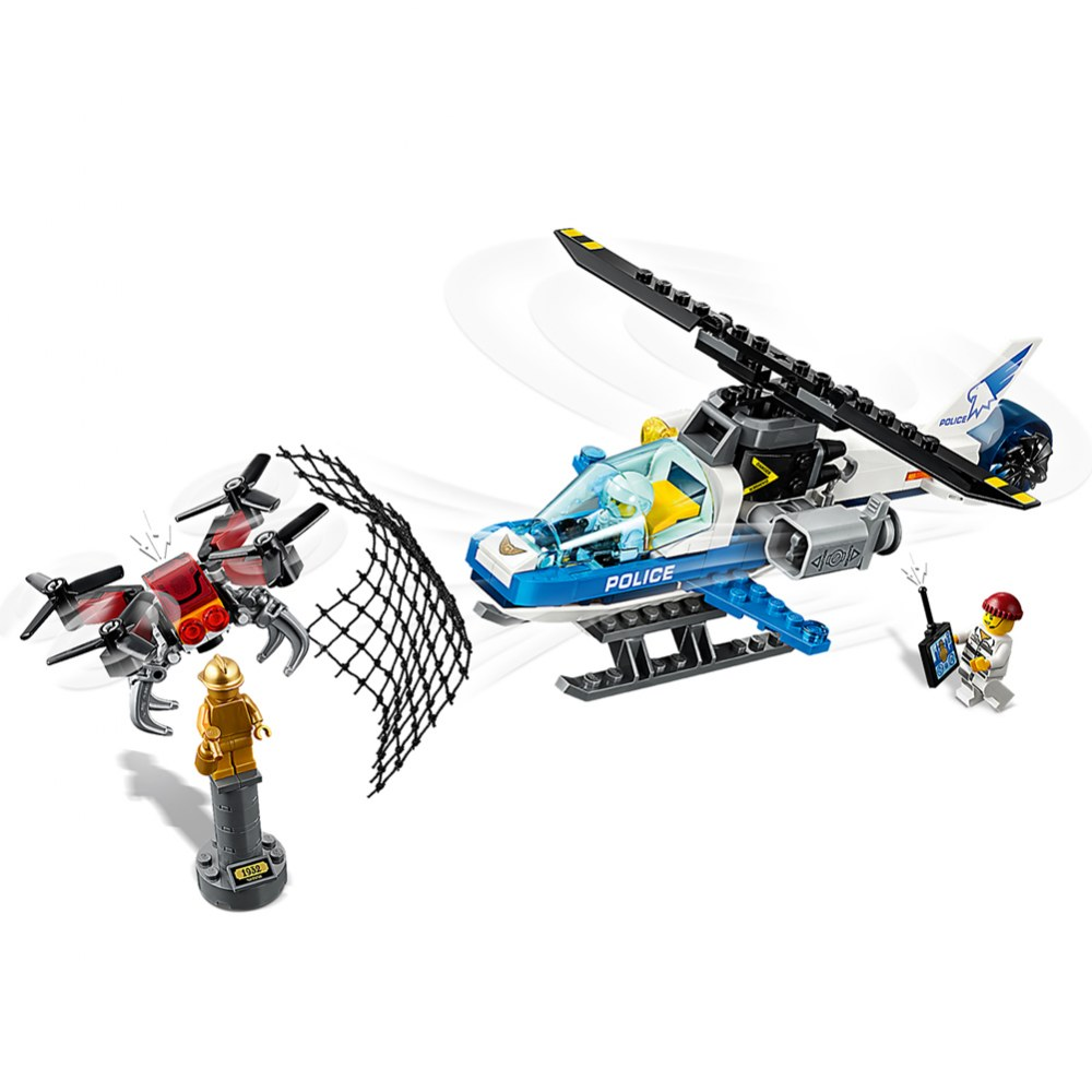 Alternate Image #1 of LEGO® City Sky Police Drone Chase - 60207