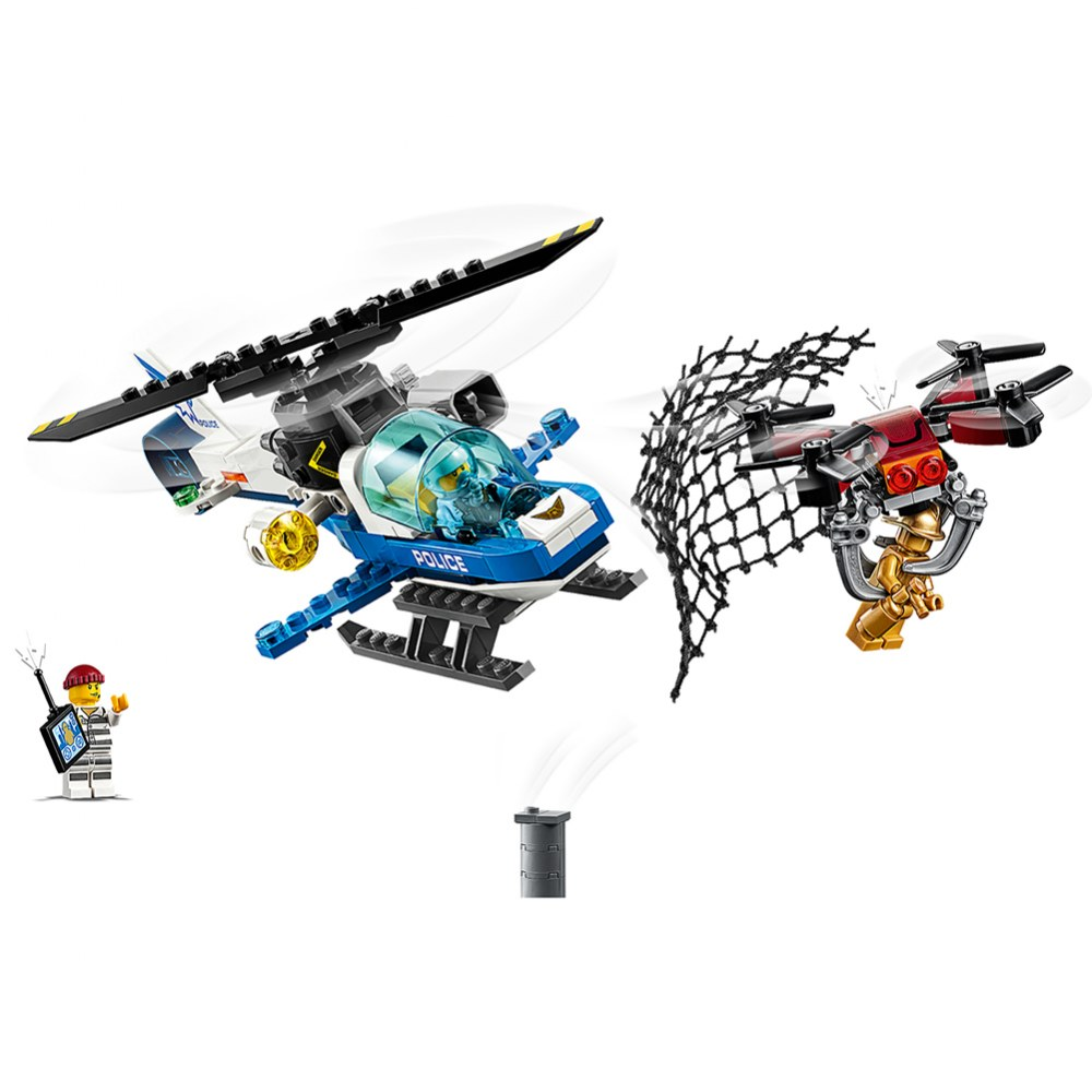 Alternate Image #2 of LEGO® City Sky Police Drone Chase - 60207