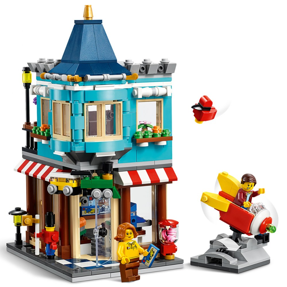 Alternate Image #1 of LEGO® Creator Townhouse Toy Store - 31105