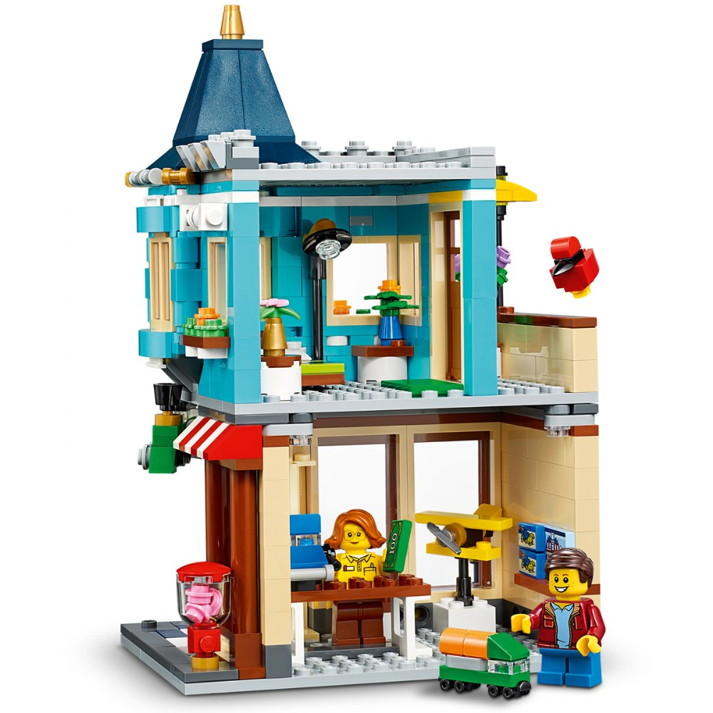 Alternate Image #2 of LEGO® Creator Townhouse Toy Store - 31105