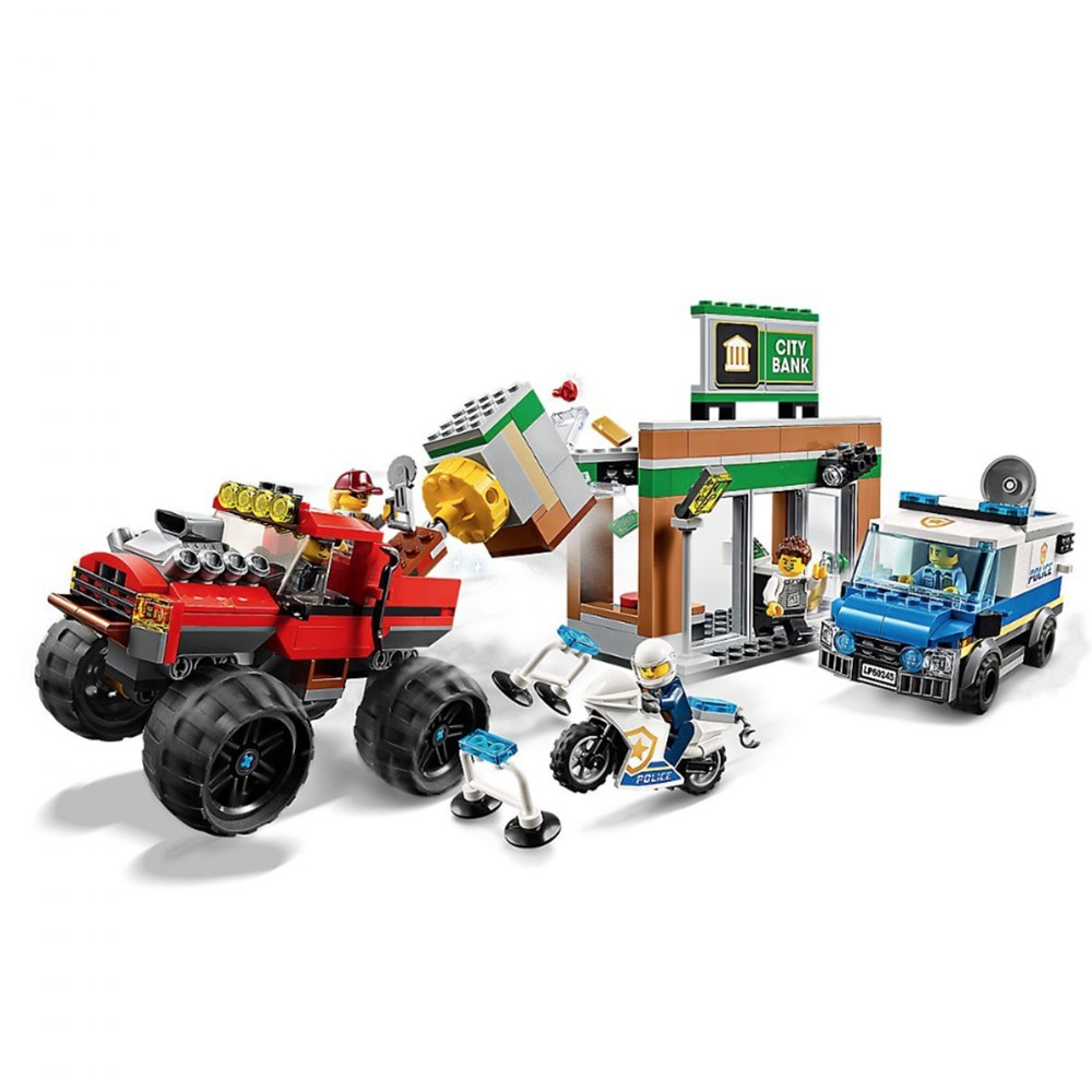 Alternate Image #1 of LEGO® City Police Monster Truck Heist - 60245